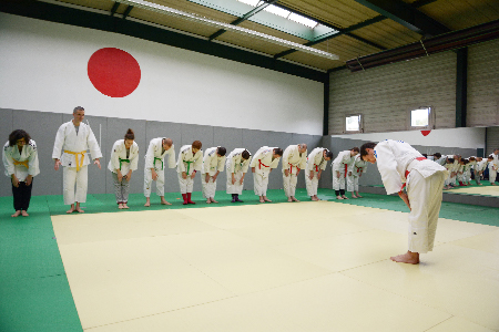 team-building judo pour l'innovation et le management