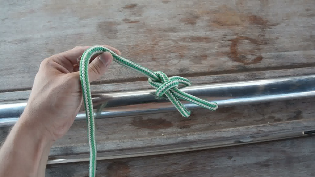 Apprendre faire un noeud de chaise noeuds marins apprendre faire de la voile by true sailor - Faire un noeud de chaise ...